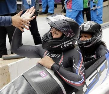 Williams, Myers Make American Olympic History in Bobsled Event