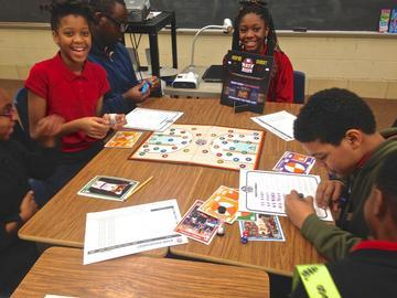 NBA Introduces New Math Game into PG County after School Program