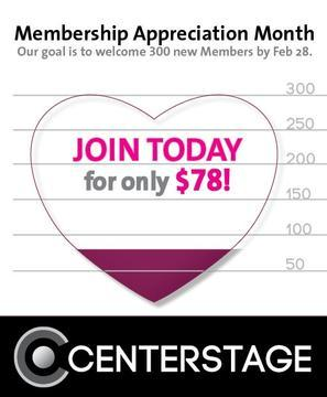 Center Stage Celebrates Existing Members and Sets Goal of Acquiring 300 New Members