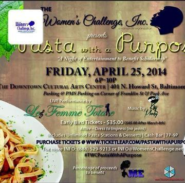 The Women's Challenge presents Pasta With A Purpose