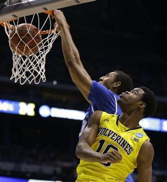 Kentucky Edges Michigan in Barnburner, Earns 16th Final Four Appearance