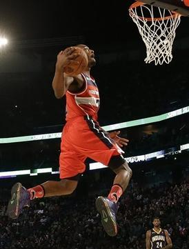John Wall Steals Show in NBA Dunk Contest
