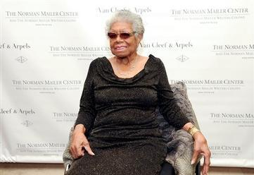Maya Angelou Accepts Mailer Center Lifetime Award