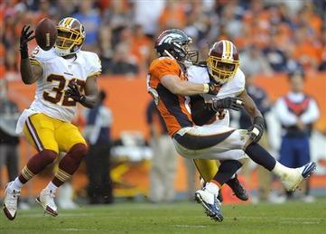 RGIII Injures Knee in Crushing Loss to Denver