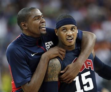 USA Overwhelms Argentina, 109-83, to Advance to Men's Basketball Final