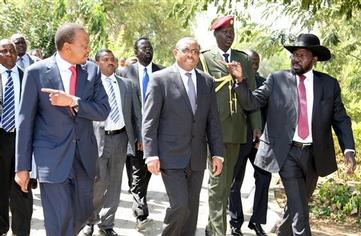 Kenyan & Ethiopian Leaders Seek Peace Talks with South Sudan