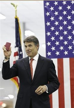 Texas Gov. Rick Perry Lures Businesses From Maryland, Takes Shot at Gov. O'Malley