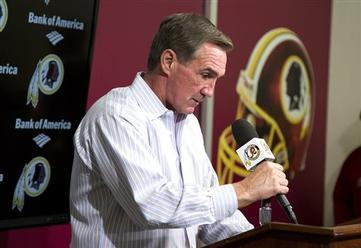 Redskins Fire Coach Shanahan After 3-13 Season