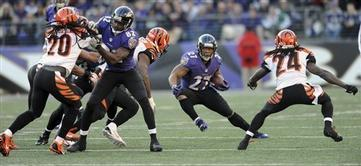 Ravens Hold off Bengals in Overtime
