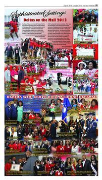 Delta Centennial Celebrations - Sojourner Douglas Graduation