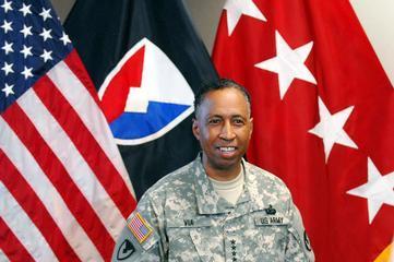 General Dennis Via, U.S. Army's New Black Four-Star General