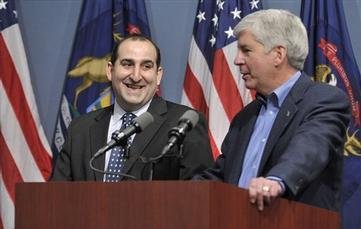Mich. Governor Declares Detroit Financial Emergency