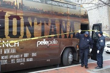 1 Dead in Shooting Outside Rapper French Montana's Bus in Philly