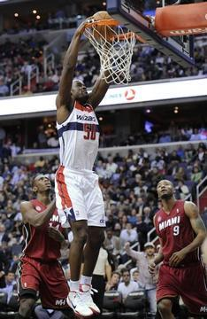 Wizards Halt Losing Skid, Beat Miami Heat