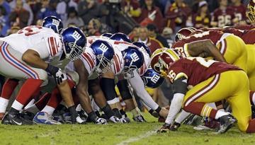 Griffin, Redskins Edge Giants