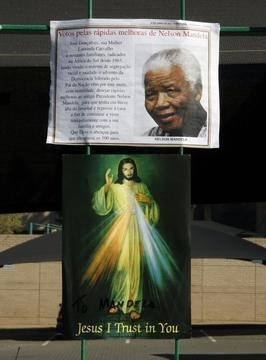 South African Archbishop Prays for Mandela