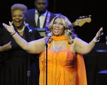 Aretha Franklin Talks Biopic, Gospelfest