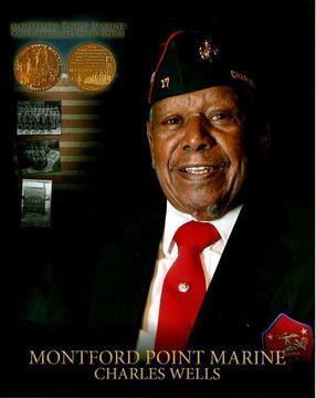Montford Point Marine, Baltimore's Charles Nelson Wells