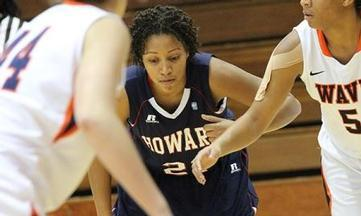 Howard Lady Bison Defeat NJIT