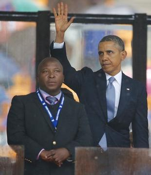 Confusion, Security Risks at Nelson Mandela Event