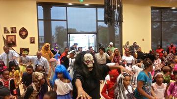 "Baltimore City Officials Host Halloween Party, ""Thriller"" Dance"