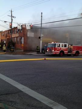 Fire on Baltimore's Sisson St. Engulfs Artist Space, Auto Shops
