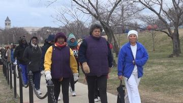 Black Woman Who Walked for Peace Now Walking for the Environment