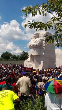 'Keep on Walking, Keep on Talking,' MLK III Urges Marchers