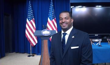 "Baltimore's Councilman Mosby Attends White House ""Let's Move"" Conference"