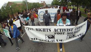 "Students Re-Enact 1963 ""Children's Crusade"" March Against Segregation"