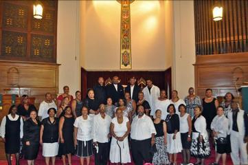 D.C.'s Canaan Baptist Holds Benefit Concert