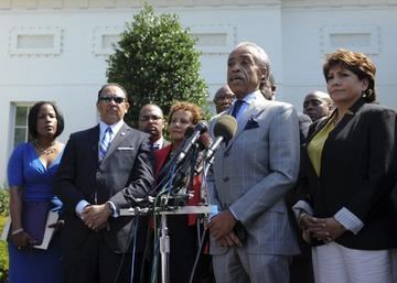 Civil Rights Leaders Meet with Obama on Voting Rights