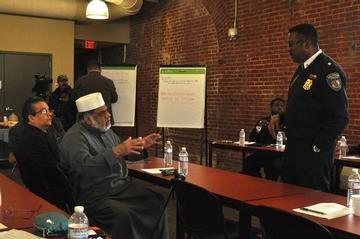 Police Engage Faith Leaders in Crime Fight