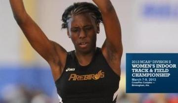 UDC's Shauna-Kay Creary Named a 2013 Division II Indoor Track & Field Championship Participant