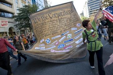 "Organizers of ""Occupy Wall Street"" Ignite D.C. Protests"
