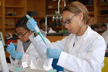 Area Students Learn To Analyze DNA at Bowie State University