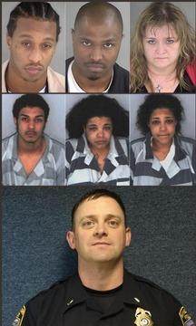 4 Charged with Gang Slaying of Va. Reserve Officer