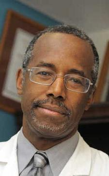 Carson Quits Hopkins Med School Commencement
