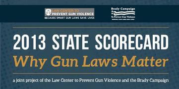 Report: 21 States Enacted Stronger Gun Control Laws in 2013