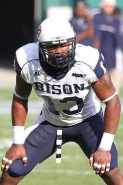 Howard's Pough Named MEAC Defensive Player of the Year