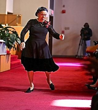 D.C.'s Therrell C. Smith Celebrates her 96th Birthday With a Dance