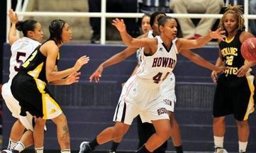 Howard's Lady Bison Defeat Bowie State for First Season Win