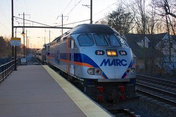 MARC Train Service between D.C., Baltimore Begins Dec. 7