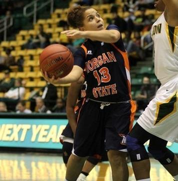 Lady Bears Sweep Season Series in Win over Coppin State