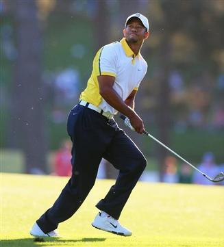 Masters 2nd Rd: Tiger Moves up to Seventh Place