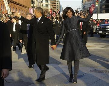 Obama' Second Inauguration Brings Joy, Hope