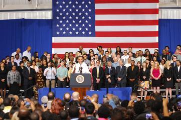 Obama Makes Stop at PGCC to Discuss Energy