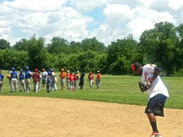 Baltimore Orioles Host Baseball Clinic for Inner City Youth