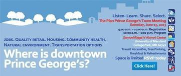 The Search for Downtown Prince George's