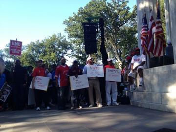 D.C. Residents Demand Statehood at Pre-March on Washington Rally